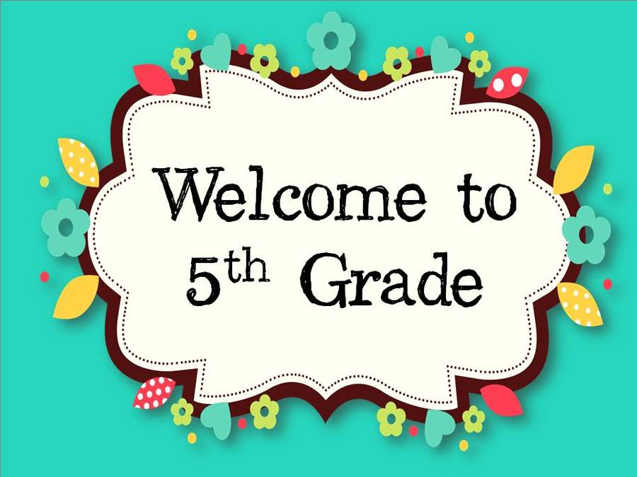 Download welcome back to fifth grade clipart Fifth grade School.