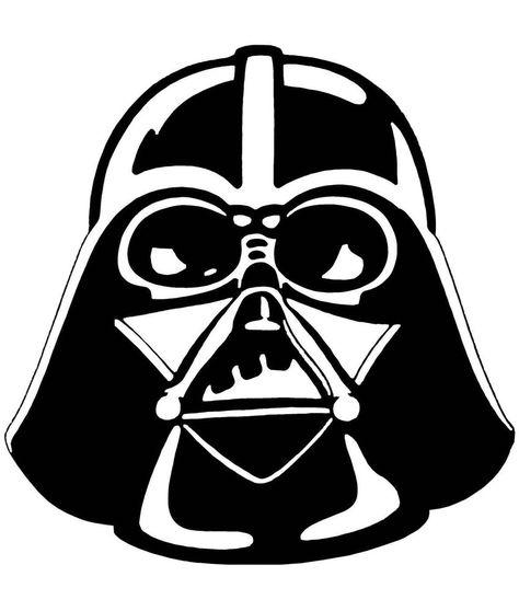 Darth Vader Star Wars Iron On T Shirt / Pillowcase Fabric.