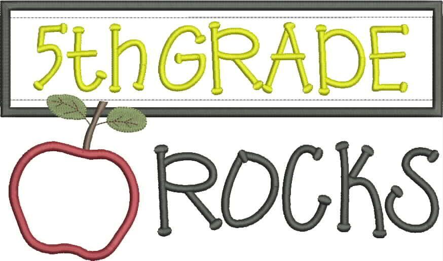Grade 5 Clipart.