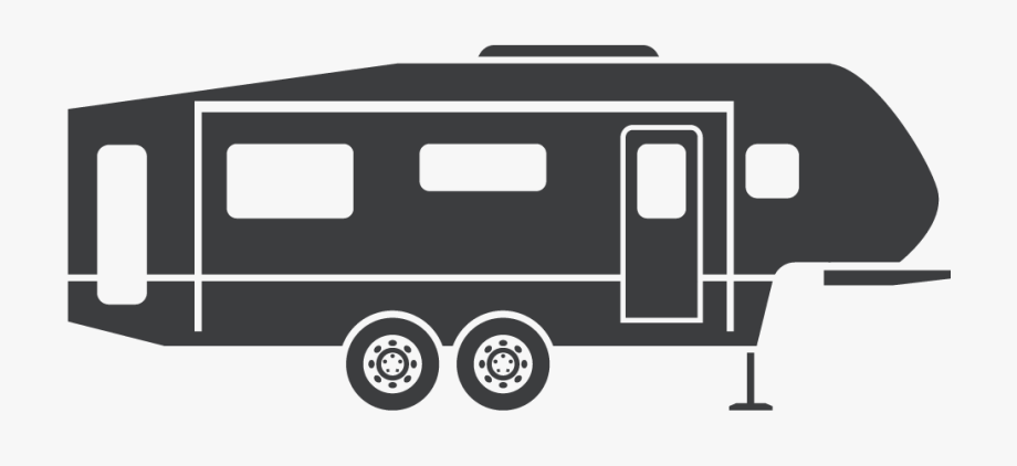 Camper Trailer Icon With Awesome Style In Singapore.