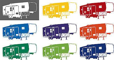 Camper Clipart 5th wheel camper 8.