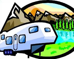 Free 5th Wheel RV Clipart.