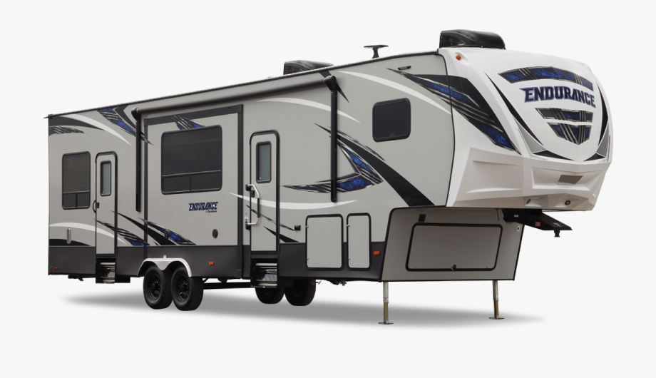 5th Wheel Camper Clipart.