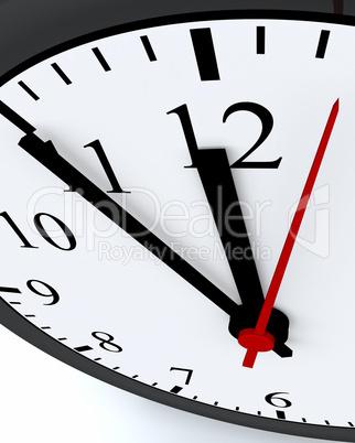 Ticking Time.