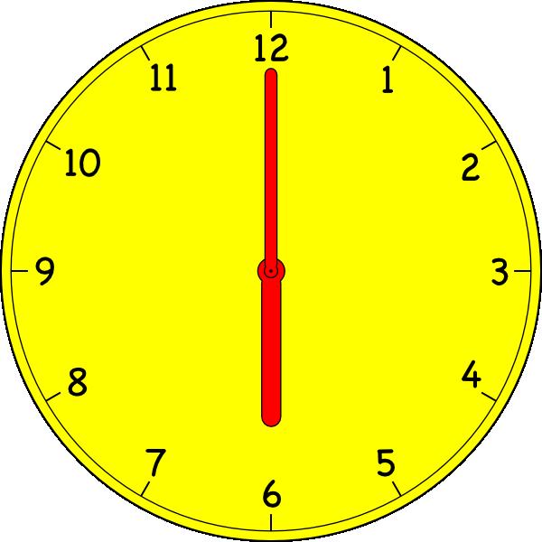 Clock clip art (103435) Free SVG Download / 4 Vector.