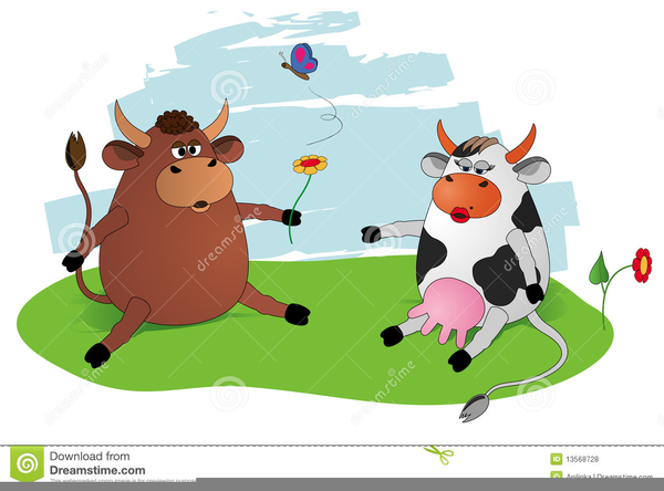 Bull Or Cow Clipart.