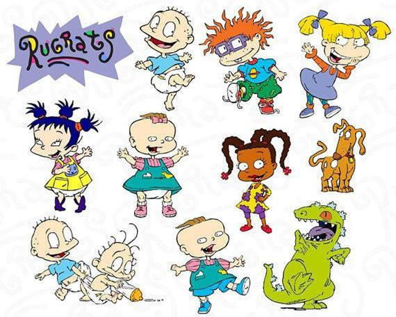 Rugrats SVG Collection.