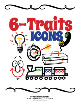 6 Traits of Writing Icons & Posters.
