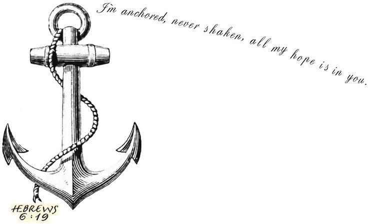 hebrews 6:19 tattoo.