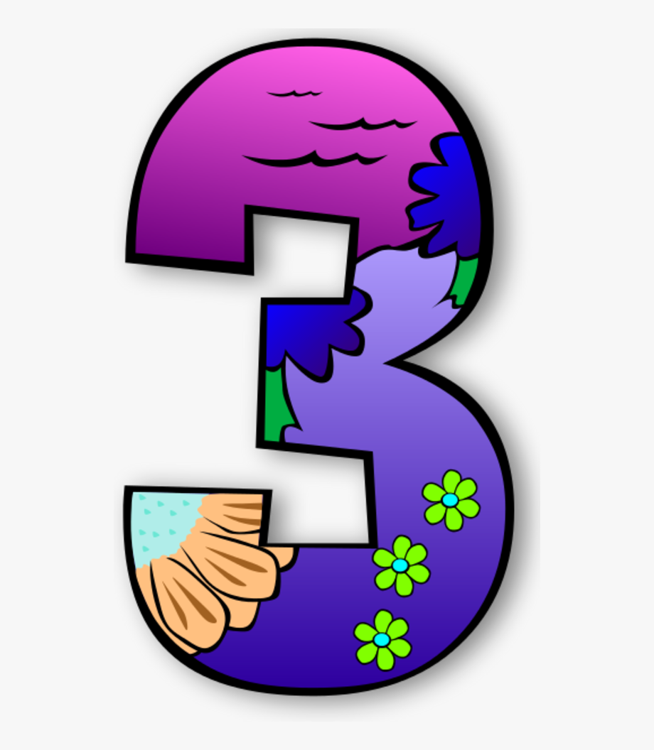 Number Clipart Creation.