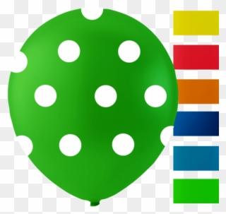 6 Balloons Dots, 10\'\'.