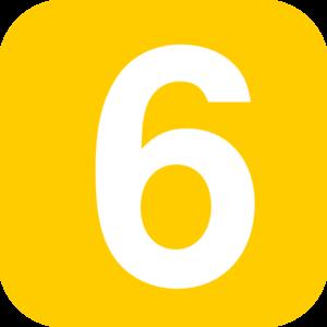 Number 6 Clip Art.