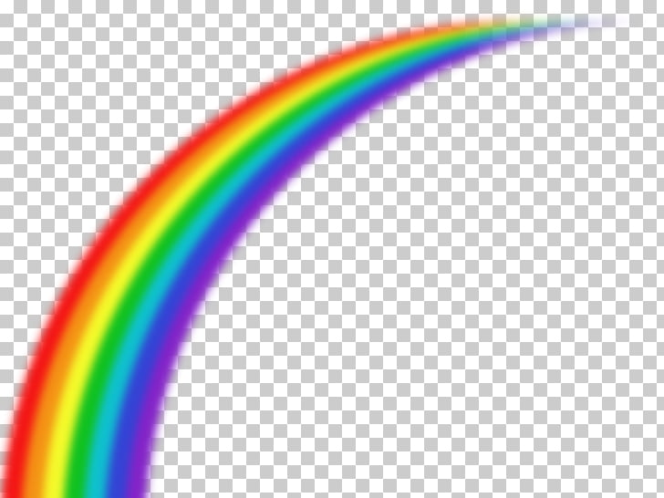 Rainbow Color Science Asilo nido, rainbow number 6 PNG.