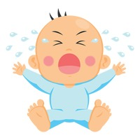 Baby crying clipart 6 » Clipart Station.