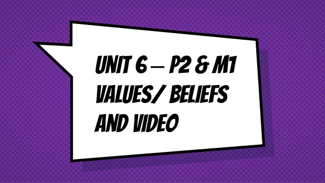 Values and beliefs 6 c\'s.