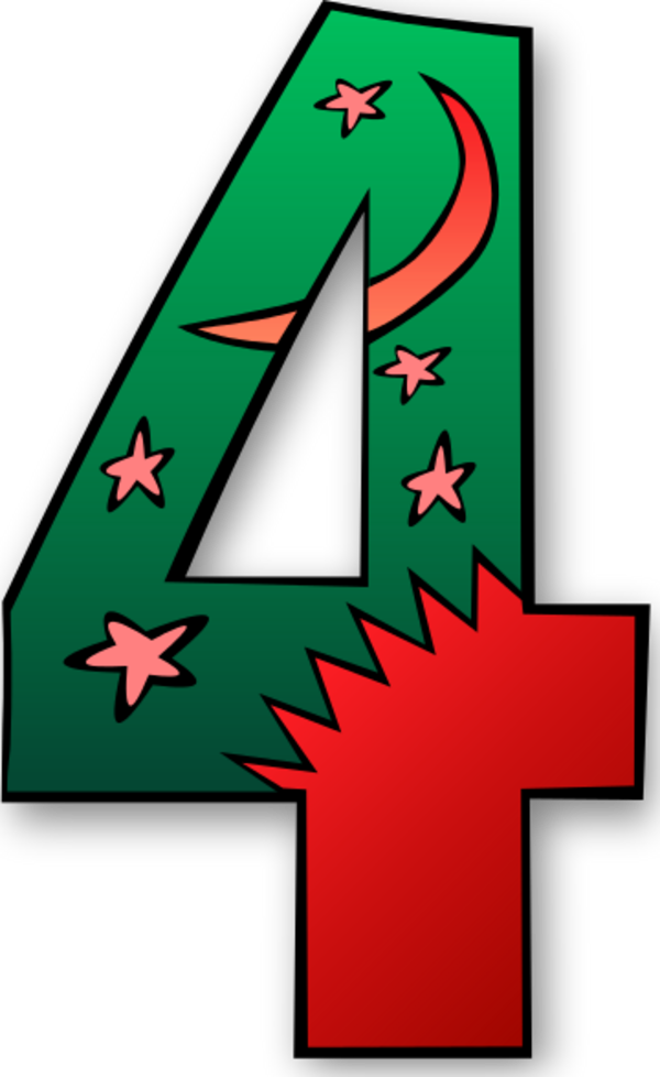 6 Days Of Creation Clip Art free image.