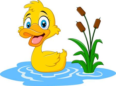 Ducks in a pond clipart 6 » Clipart Station.