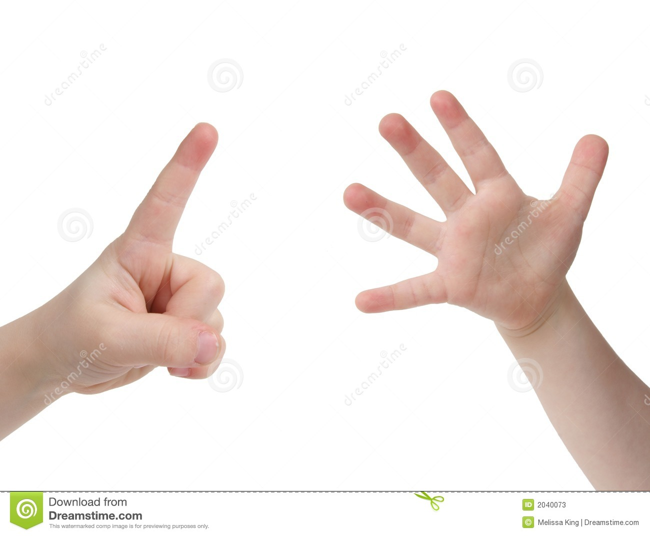 Six Finger Clipart.