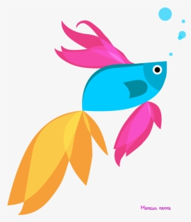 Free Blue Fish Clip Art with No Background , Page 6.