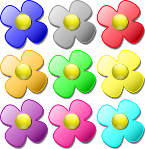 Game Marbles Flowers Clip Art at Clker.com.