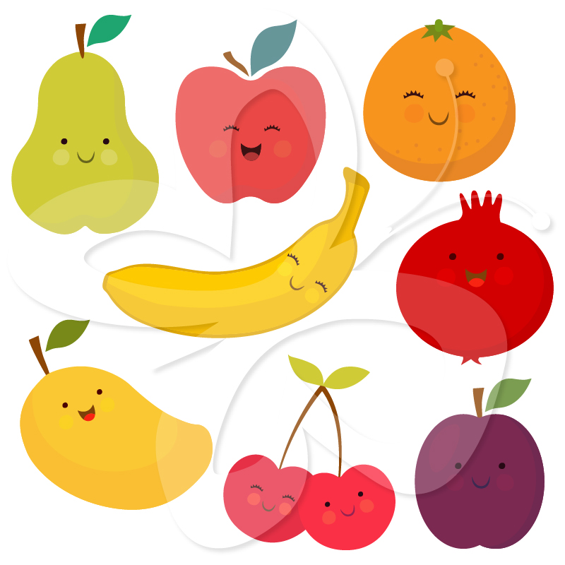 Fruit and veg clipart 6 » Clipart Station.