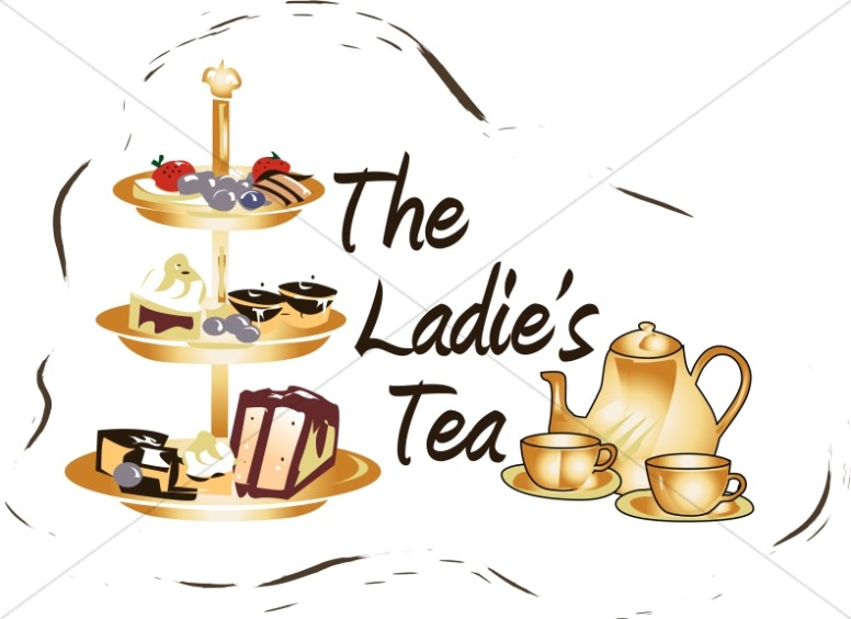 Ladies tea clipart 6 » Clipart Station.