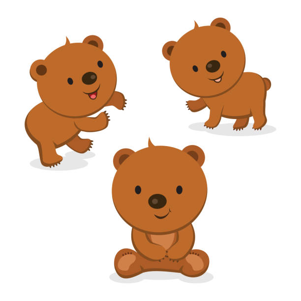 Clipart Of Cartoon Bears.