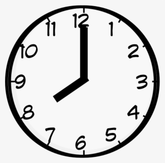 Free Free Clock Clip Art with No Background.