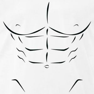 6 Pack Abs Clipart.