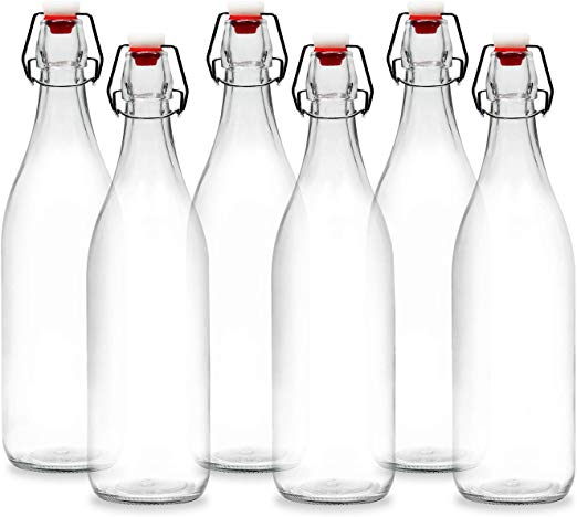 Americanflat 30oz (900ml) Glass Bottle.