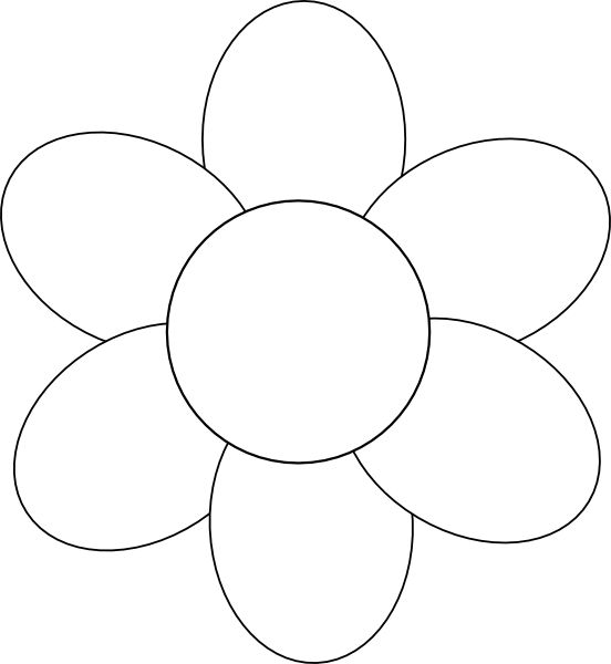 Free 6 Petal Daisy Cliparts, Download Free Clip Art, Free.