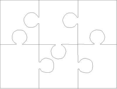 Puzzle Template 6 Pieces. 1000 ideas about puzzle piece template.