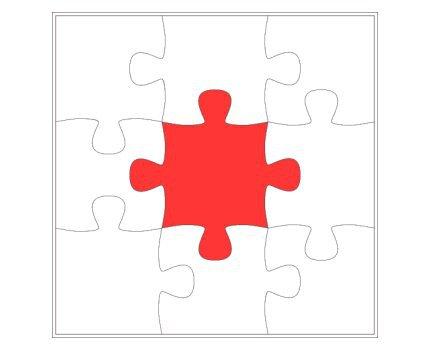 Puzzle Template 6 Pieces. 1000 ideas about puzzle piece template.