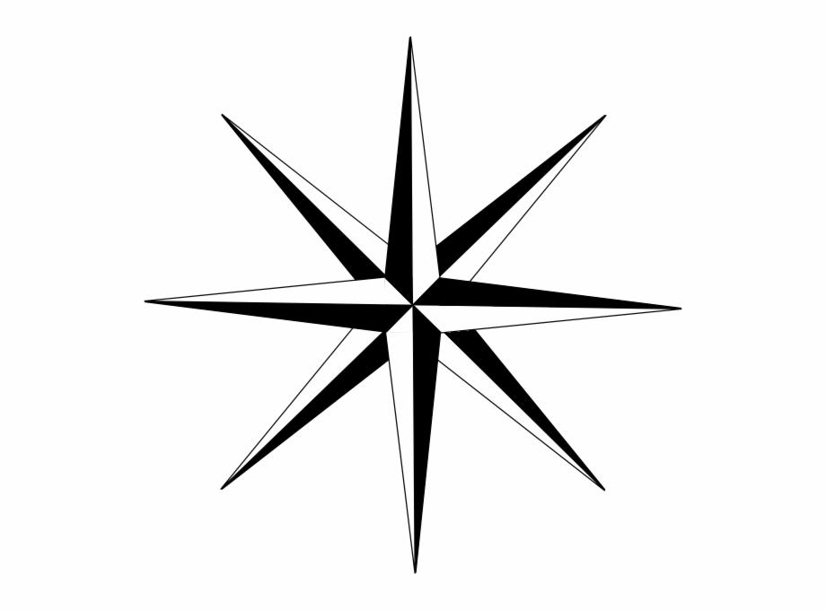 8point Star Clip Art.