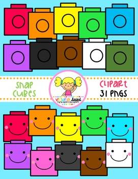 Snap Cube Clipart.