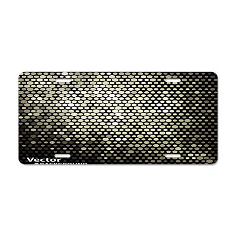 Amazon.com: huizehonghong Golden Shiny Dots Abstract Pattern.
