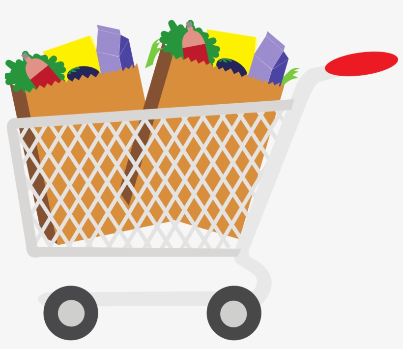 Grocery Cart Clipart 18 Cliparts.