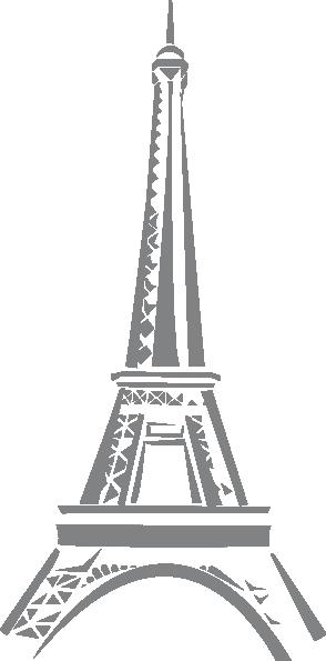 Eiffel Tower Clip Art at Clker.com.