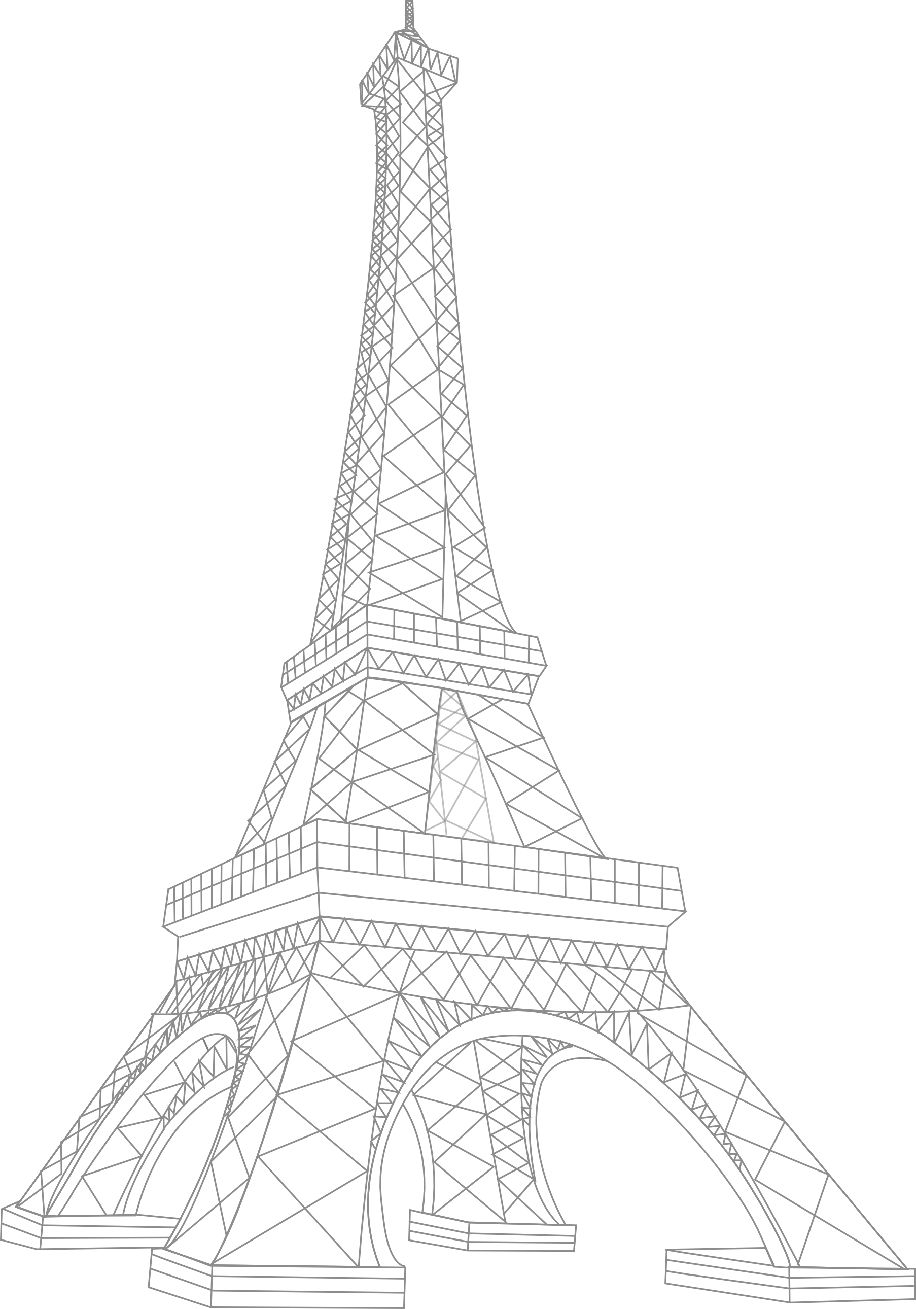 45 Free Eiffel Tower Clip Art.