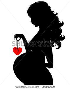 My Pregnancy Journal: Pregnancy Logo, 6 x 9, Nine Month Daily.