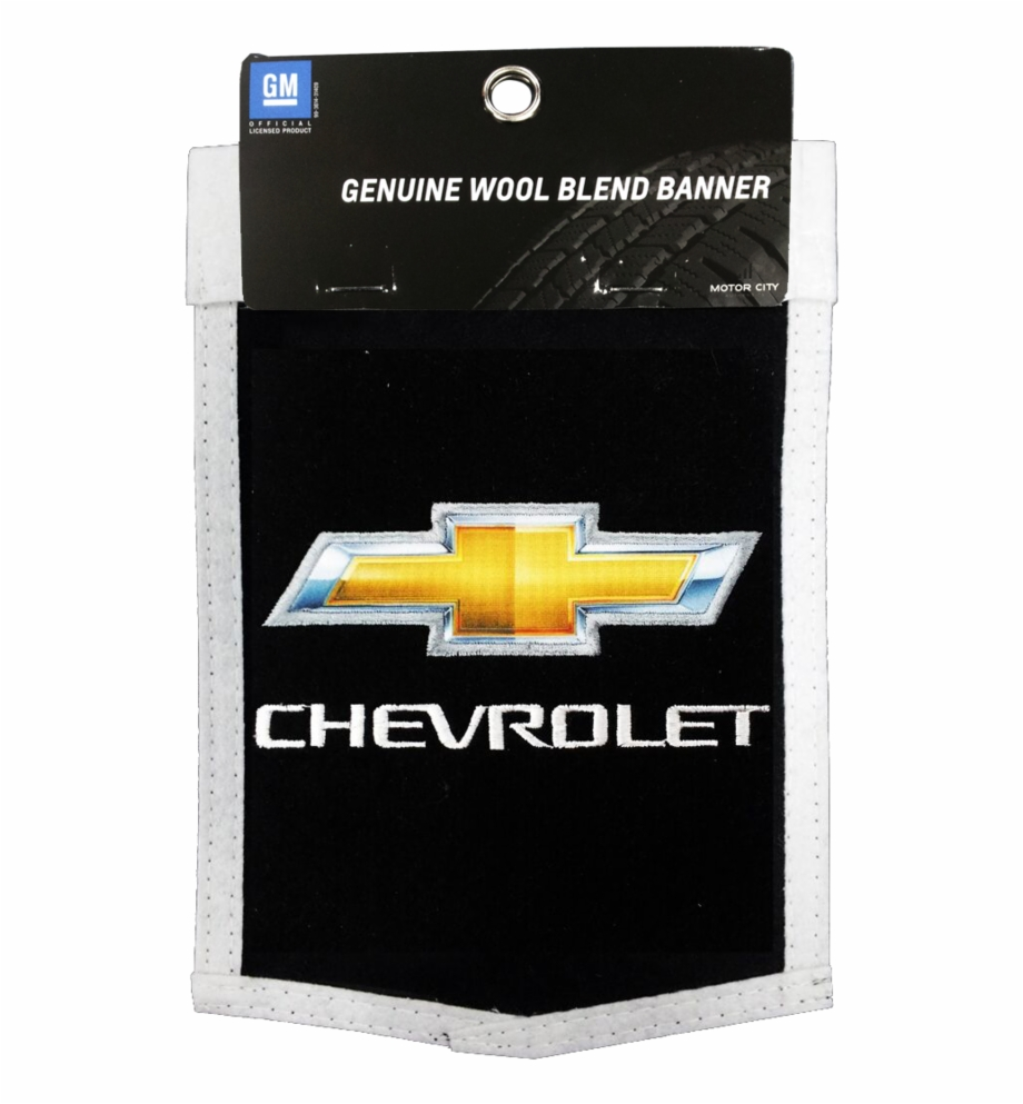 Chevrolet Mini Wool Embroidered Banner 6