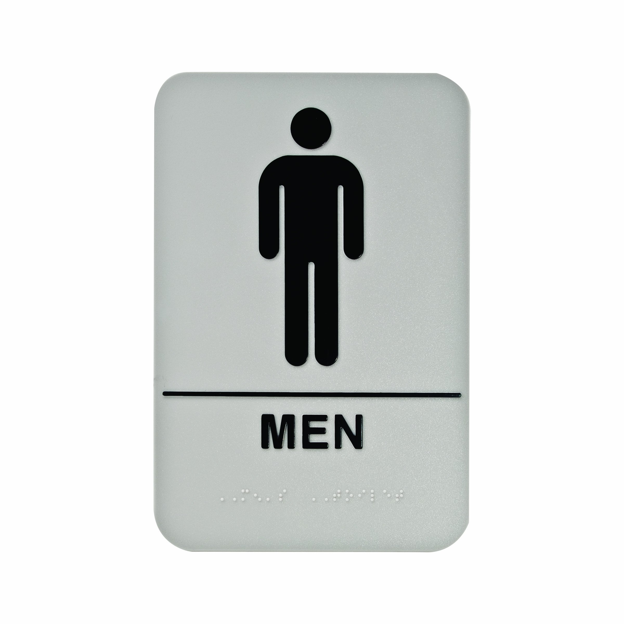 Male Bathroom Symbol.