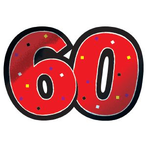 Clip Art Free Images 60th birthday.