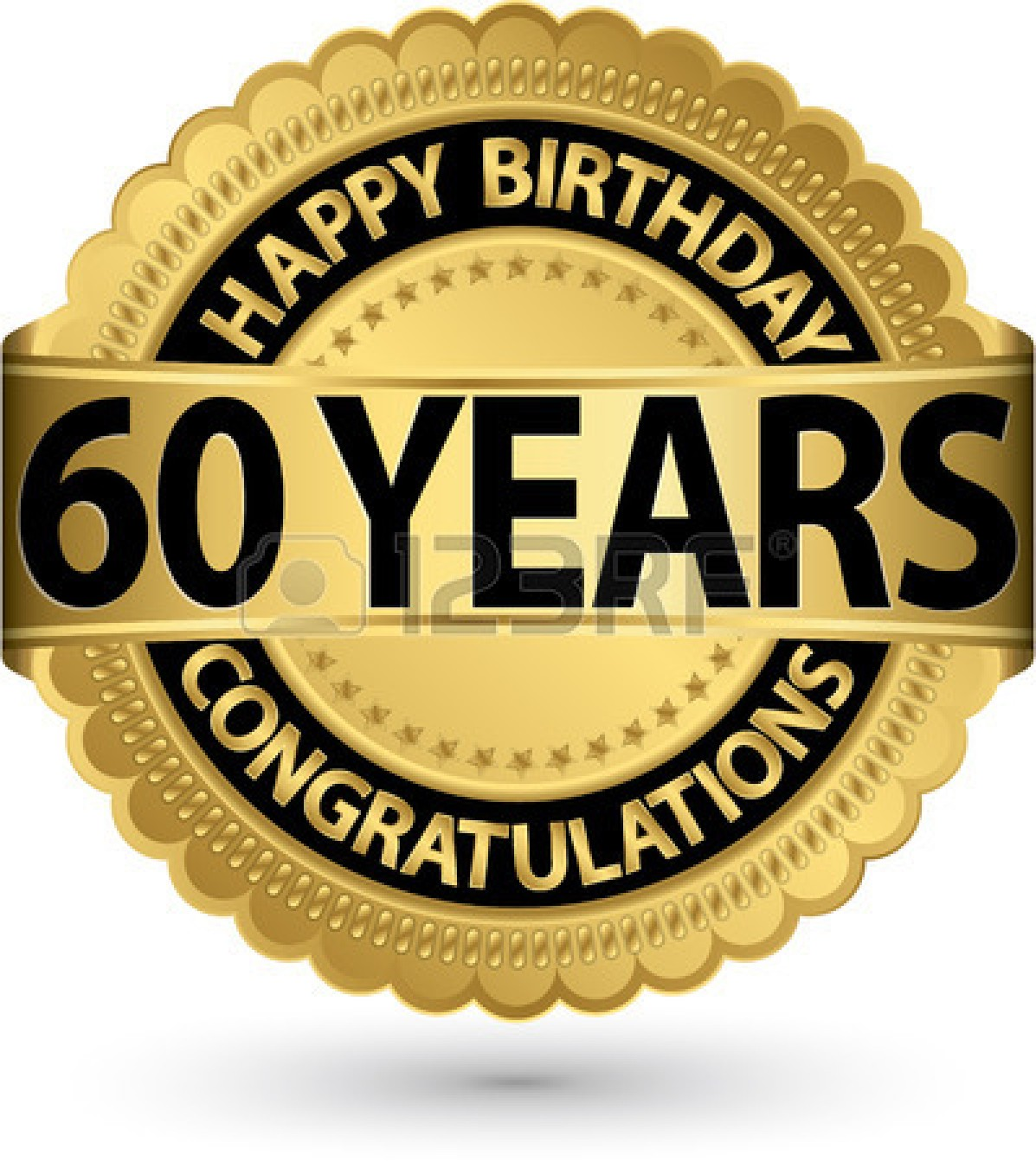 Free Clipart For 60th Birthday.