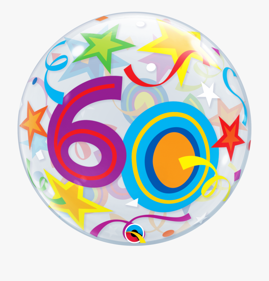 Image Transparent 60th Birthday Clipart.