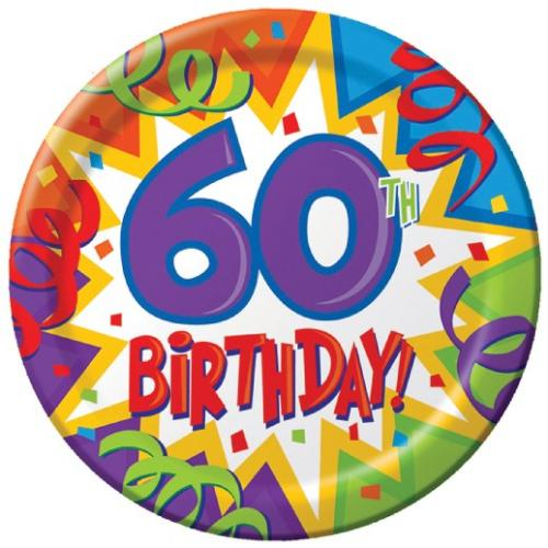 60th Birthday Clipart Male.