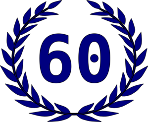 Number 60 Clipart.