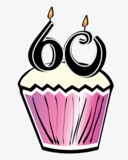 Free 60th Birthday Clip Art with No Background.
