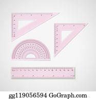 60 Degrees Triangle Clip Art.