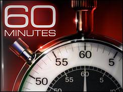 60 Minutes logo font.